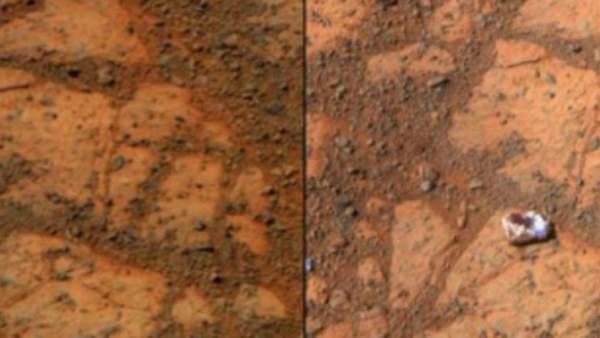 Resuelven el misterio del 'donut de mermelada' hallado en Marte