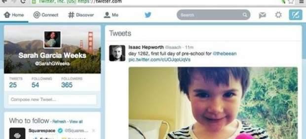 El rediseño de la página web de Twitter ya está disponible para todos los usuarios