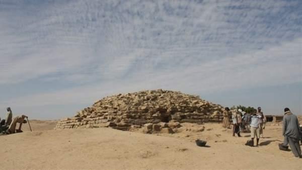 Pirámide escalonada Egipto