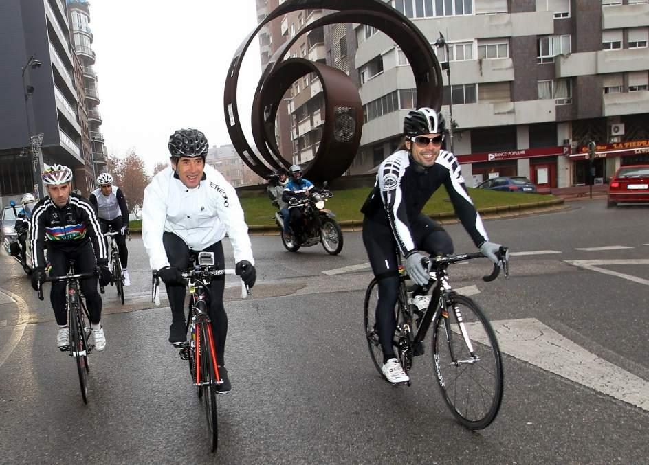 Ponferrada Capital Mundial Del Ciclismo Durante Una