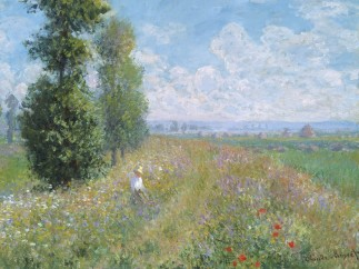 Meadow with Poplars, 1875