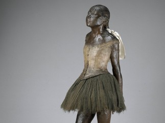 Little Fourteen-Year-Old Dancer, Original model 1878–81, cast after 1921