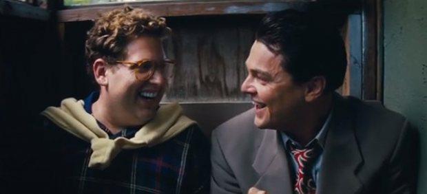 Jonah Hill y Leonardo Di Caprio