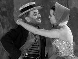 Secuencia de Candilejas, con Charles Chaplin