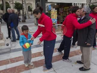 Copa Federación de tenis en Sevilla