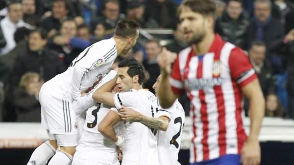 Semifinal de Copa entre el Real Madrid y el Atlético