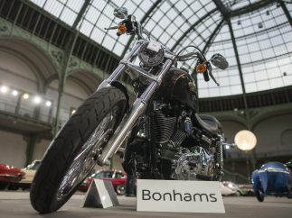 Harley Davidson del papa Francisco