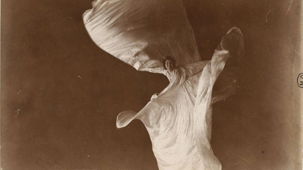 'Loïe Fuller bailando'