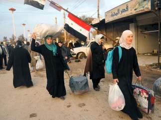 Retorno a casa en Damasco