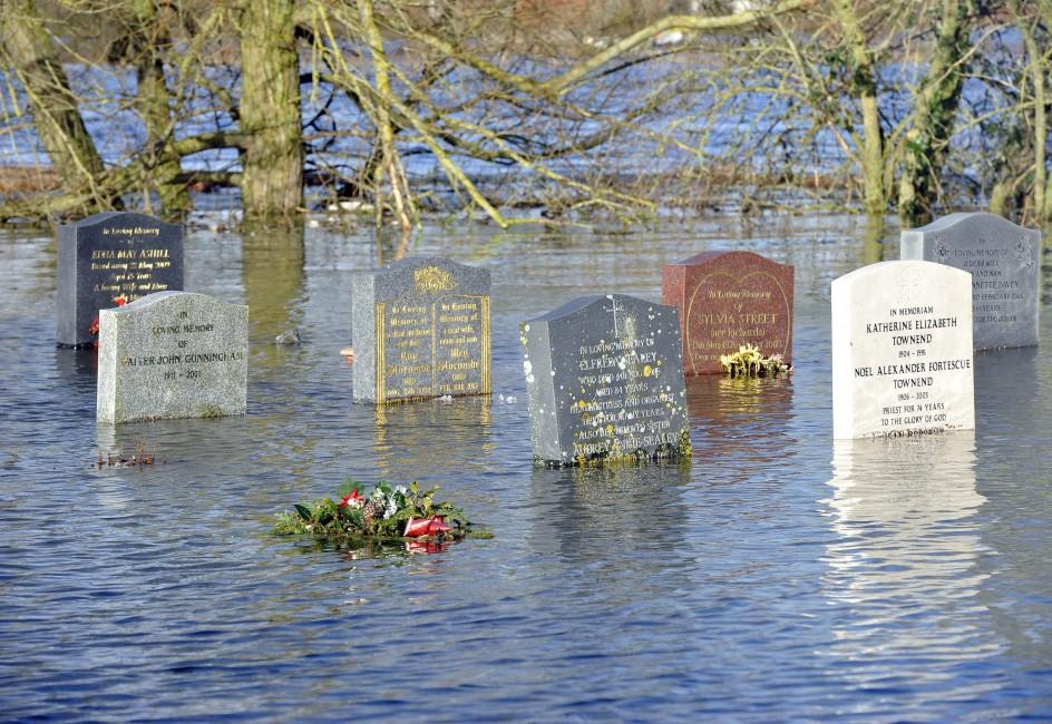 El peor temporal de lluvia desde 1910