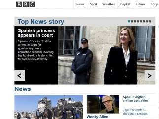 La declaración de la infanta, en la BBC