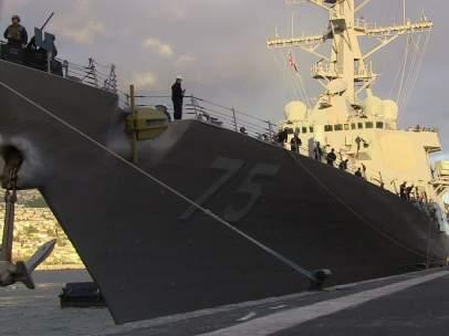 El destructor USS Donald Cook llega a Rota