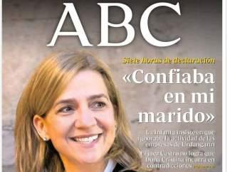 La infanta sonriente, en ABC