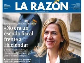 "La Razón: ""No era un escudo fiscal"""
