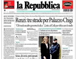 Foto de la infanta en La Repubblica
