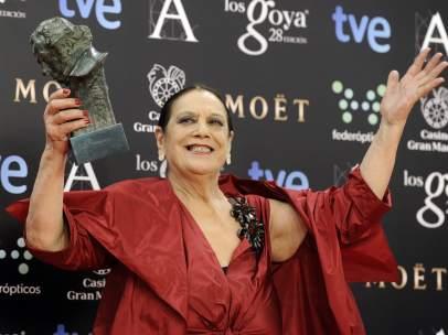 Terele Pávez, mejor actriz de reparto