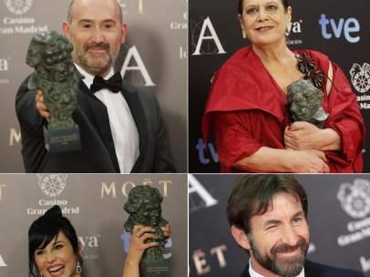 Javier Cámara, Terele Pávez, Marián Álvarez y Antonio de la Torre