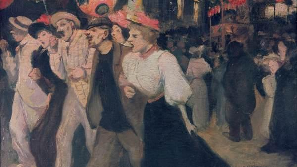 'Le 14 juillet, 1895'