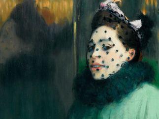 'Femme à la voilette', 1891
