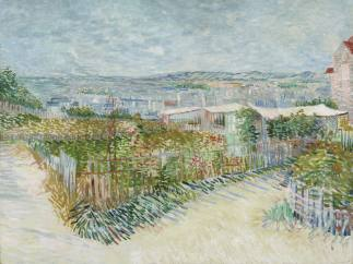 'Montmartre: derrière le Moulin de la Galette', 1887