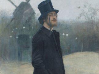'Le Bohème, poète de Montmartre' (Portrait d'Erik Satie), 1891