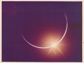 'Eclipse of the Sun by the Earth'. 'Apollo 12'. November 1969