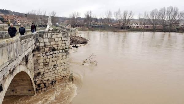 Crecida del río Duero