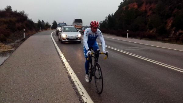 Davide Cassani, seleccionador italiano de ciclismo