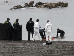 Subsahariano muerto en Ceuta