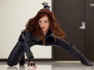 Scarlett Johansson, como 'La Viuda Negra'.