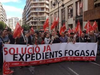 Protesta por los impagos del Fogasa