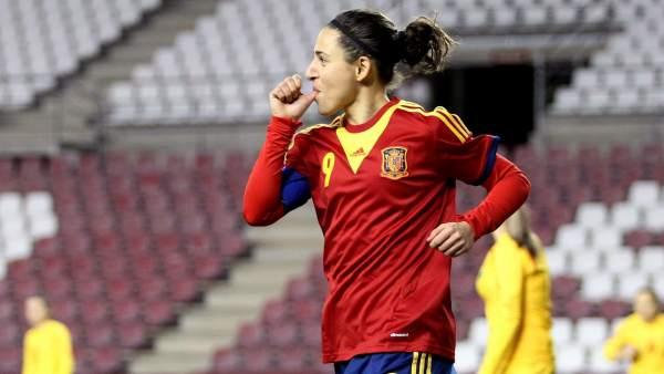 Vero Boquete marca para España