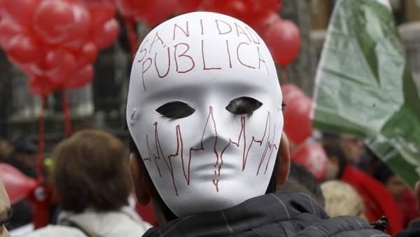 Máscaras de celebración