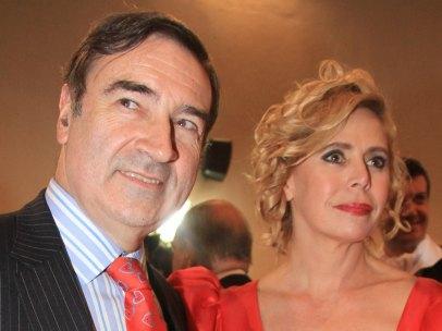 Pedro J. Ramírez y Agatha Ruiz de la Prada