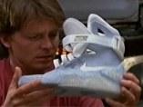 Zapatillas autoajustables de Regreso al futuro