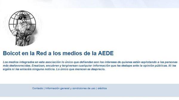 La web de AEDE, pirateada