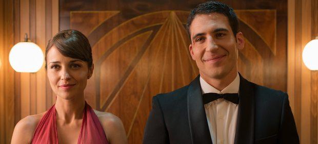 Paula Echevarría y Miguel Ángel Silvestre en Velvet