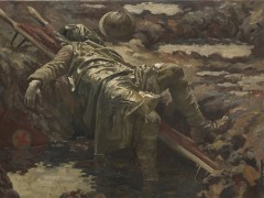 The Dead Stretcher-Bearer, 1919