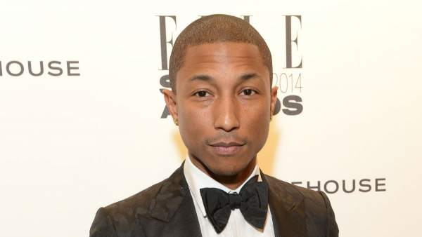El músico Pharrel Williams.