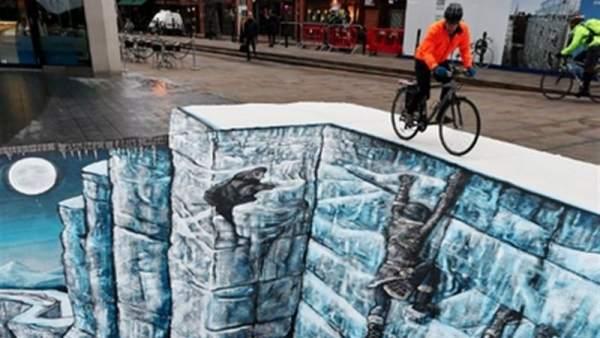 El Muro de Juego de Tronos se alza en pleno Londres