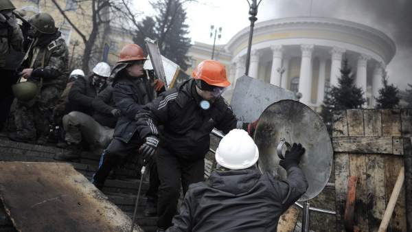 Enfrentamientos en Kievc