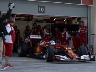 Fernando Alonso, en Bahréin