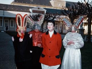 Bal masqué, hôpital de Picauville (Manche), sans date