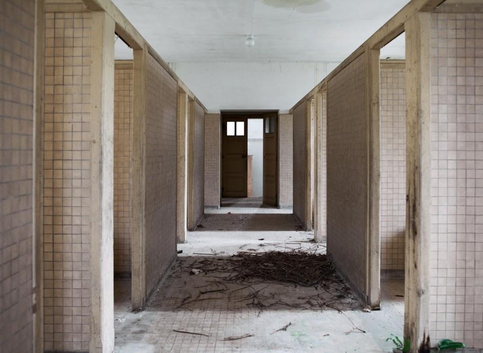 Anciennes salles de bain h pital de picauville manche - Salle de bain hopital ...