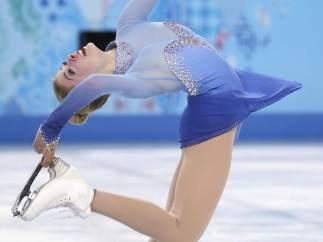 Bailarina en el hielo