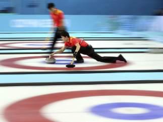 Prueba de curling