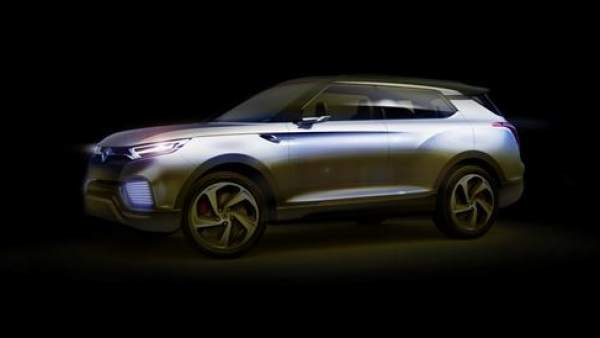 Nuevo coche de concepto híbrido XLV