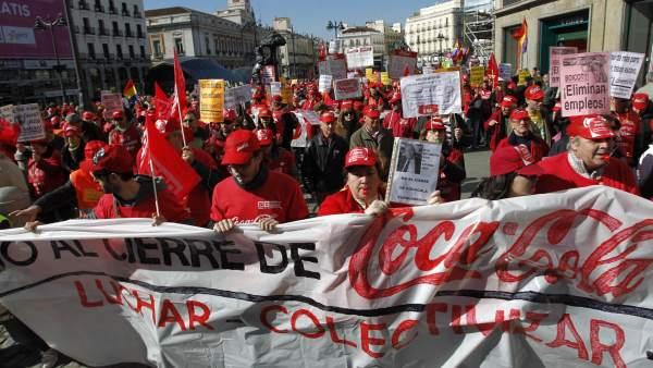 Afectados de Coca-Cola