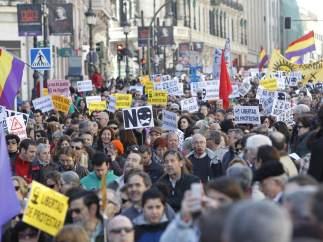 Protesta multitudinaria