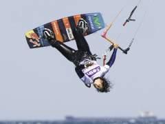 Gisela Pulido, en acción